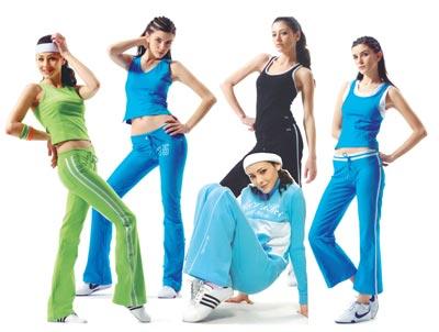 Модная одежда спортивная одежда фото