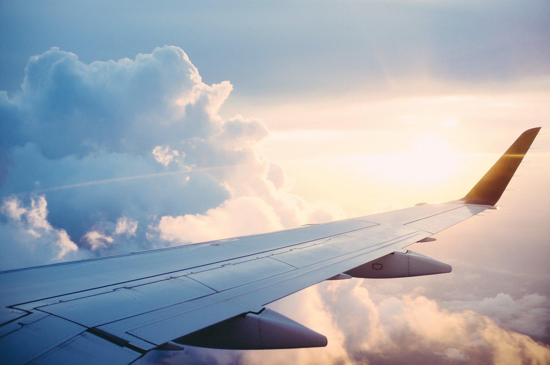 На самолете в Симферополь