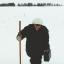 Марина Китарьева проводит снегосъемку в полях возле с. Атлашево. На основании полученных данных составляется прогноз по паводку. Фото из личного альбома М.Китарьевой