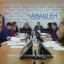 Прямая линия Оперативного штаба по ситуации с коронавирусной инфекцией прошла 2 апреля в прямом эфире. Фото cap.ru
