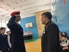 Юнармейцы Новочебоксарского кадетского лицея – отличники строевой подготовки! кадеты