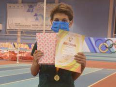 Ян Чумбаков,  Новочебоксарск.Победители родом из детства Спорт - норма жизни легкая атлетика