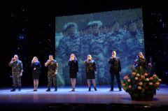 В столице Чувашии состоялось торжественное мероприятие в честь Дня защитника Отечества 23 февраля - День защитника Отечества