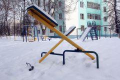 В снежном плену. Фото Валерия БаклановаЗимой Дети впадают в спячку? проблема