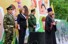 Торжественное мероприятие в честь Дня пограничника состоялось в Ельниковской роще День пограничника