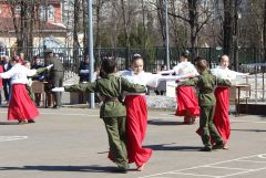 Более 300 кадет приняли участие в «Кадетской поверке» Кадетская поверка