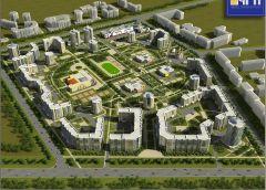 Утвержденный проект планировки IX микрорайона.Лучший город на земле Жилищное строительство