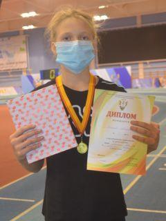 Анастасия Ушкова,  Шумерля.Победители родом из детства Спорт - норма жизни легкая атлетика