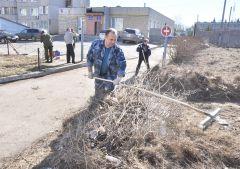 © Фото Анастасии ГРИГОРЬЕВОЙПорядок в городе  наводят спасатели экологический субботник