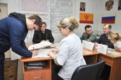 Городская призывная комиссия. Повестку на отправку получил. © Фото Анастасии ГригорьевойАрмии нужны умные  и сильные призыв