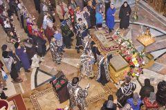 Вынос плащаницы. © Фото Валерия БаклановаПриди, Христово Воскресение! Пасха