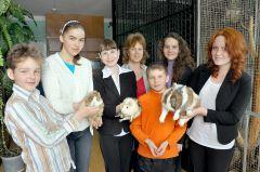 Призеры конкурса обожают животных. Фото Валерия Бакланова.Покорили Московский зоопарк Знай наших!
