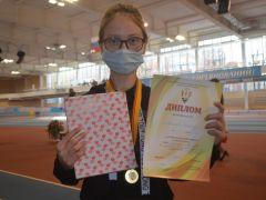Екатерина Абрамова,  Шумерля.Победители родом из детства Спорт - норма жизни легкая атлетика