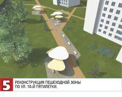 05_Реконструкция пешеходной зоны  по ул. 10-й пятилетки.Голосуй за красоту и комфорт Реализация нацпроектов