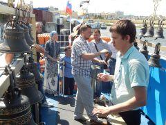С колокольными перезвонами по Волге Фестиваль колокола