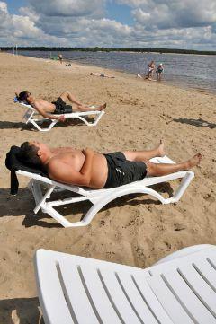 © Фото Валерия БаклановаЗагораем с комфортом Пляж года итоги года