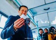 Проезд в общественном транспорте в Чебоксарах и Новочебоксарске станет дешевле на 2 рубля общественный транспорт