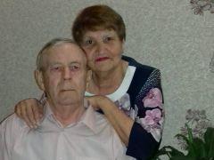 Супруги Татьяна Ивановна и Виталий Порфирьевич Табуновы.50 лет душа в душу