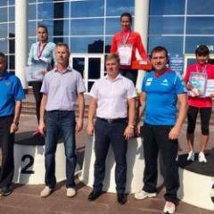 Ксения Махнева - втораяСпортсменка из Чувашии стала серебряным призером чемпионата России по бегу по шоссе легкая атлетика