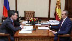 Иван Моторин представил Михаилу Игнатьеву новые предложения по структуре Правительства