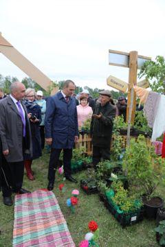 Глава Чувашии поздравил жителей Канашского района с праздником «Акатуй-2018» акатуй