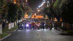 Ночной велопробегВ столице Чувашии состоялся ночной велопробег, посвященный Дню города Чебоксары велопробег День города