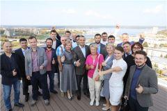 """Участники стратегической сессии. Фото: cap.ruВ чебоксарском технопарке """"Кванториум"""" обсудили будущее ИТ-отрасли Чувашии информационные технологии"""