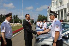 12 новых автомобилей получила госавтоинспекция Чувашии