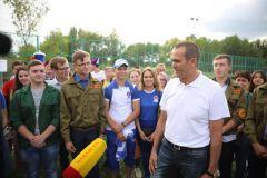Глава Чувашии Михаил Игнатьев встретился с волонтерами ЧМ-2018 ЧМ-2018