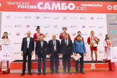 Открытие ЧР по самбо. Фото cap.ruВ Чувашии стартовал чемпионат России по самбо самбо