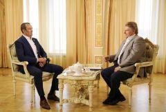 Михаил Игнатьев: Главное — быть честным перед собой  и народом Чувашии Глава Чувашии Михаил Игнатьев