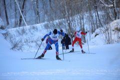 Гонки с морозцем лыжи