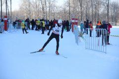 В Чебоксарах состоялись лыжные соревнования «Рождественская гонка» лыжи