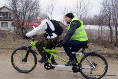 Ракетой до Шоршел  (фоторепортаж об открытии велосезона-2019 в Чувашии) велопробег