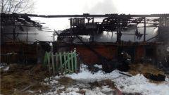 Последствия пожараВ Аликовском районе сгорели 3 тонны сена пожар