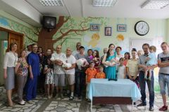 В День защиты детей в роддоме состоялась торжественная выписка трех новорожденных. Там, где маму ждет помощь Нацпроекты демография