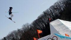 Лана Прусакова на трассеОлимпийский дебют Ланы Прусаковой Пхёнчхан Олимпиада-2018