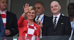 Президент Хорватии поблагодарила Россию на русском языке ЧМ-2018