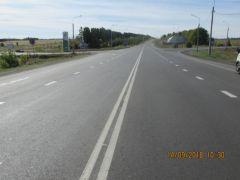 Завершился ремонт участка автодороги «Чебоксары - Сурское»  Безопасные и качественные дороги дороги