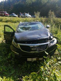 Место ДТПВ ДТП в Шумерлинском районе пострадали трое детей  ДТП с несовершеннолетним