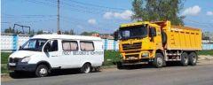 Ехали с перевесом? Фото: cap.ruЧетыре грузовика Shacman задержаны в Чебоксарах весовой контроль