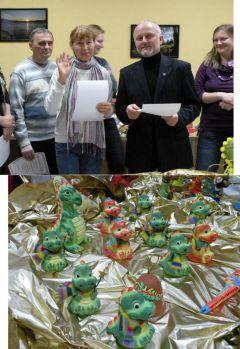 Токсина Луиза ЯковлевнаОпределены победители конкурса народно-художественных промыслов «Новогодний сувенир-2011» сувенир рукоделие народные промыслы