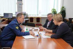 Прокурор Новочебоксарска посетил ПАО «Химпром»Прокурор Новочебоксарска посетил ПАО «Химпром» Химпром