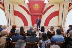 14 ноября Глава Чувашии ответил на десятки вопросов журналистов. Фото cap.ruГлава о главном Курс Чувашии