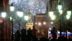 В Москве в новогоднюю ночь запустят салют с 38 точек
