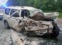 Место ДТПВ Канашском районе в ДТП погибли двое молодых людей ДТП со смертельным исходом