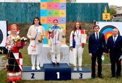 Ульяна Андреева стала серебряным призером юниорского первенства России по стрельбе из лукаЮниоры Чувашии - серебряные призеры первенств России