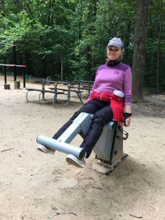 Елена Аркадьева стала чувствовать себя намного лучше после того, как начала заниматься физкультурой.Жить планирую до 120 лет! День физкультурника