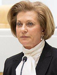 Глава Роспотребнадзора Анна ПоповаАнна Попова сказала, что любое дезинфицирующее средство «убивает» коронавирус #стопкоронавирус