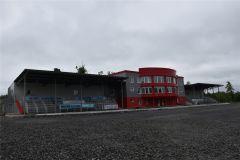 Сначала Виктор Майгуров посетил недостроенный биатлонный центр в Чебоксарах, где готово только административное здание (слева),... Биатлонному центру в Чувашии быть! центр биатлона